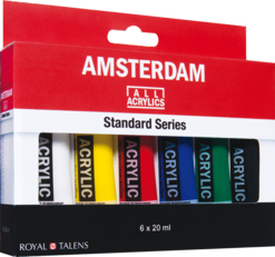 amsterdam acryl set 6 x 20ml general selection