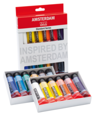 amsterdam acryl set 12 x 20ml general selection