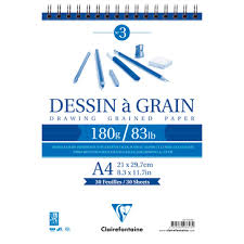 schets clairefontaine 180 gr A4